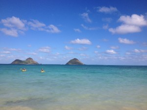 Islands off of Kailua