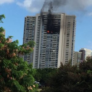 The Marco Polo building fire made worse due to no sprinkler systems