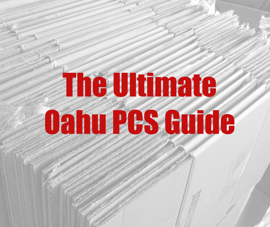 Ultimate PCS Guide for Oahu